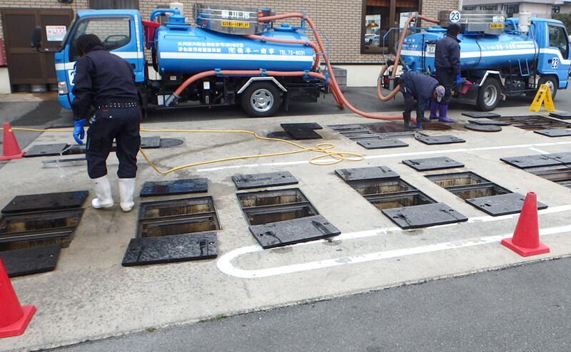 浄化槽保守点検・清掃・し尿汲取り