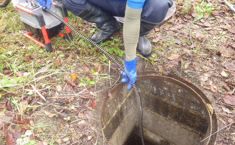 浄化槽関連設備の修理・交換・排水詰り除去作業