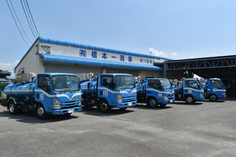 浄化槽汚泥・し尿収集運搬車